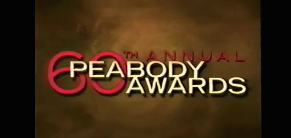 Complete 60th Annual Peabody Awards (May 21, 2001)