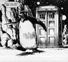 Frobisher from the Doctor Who Comics