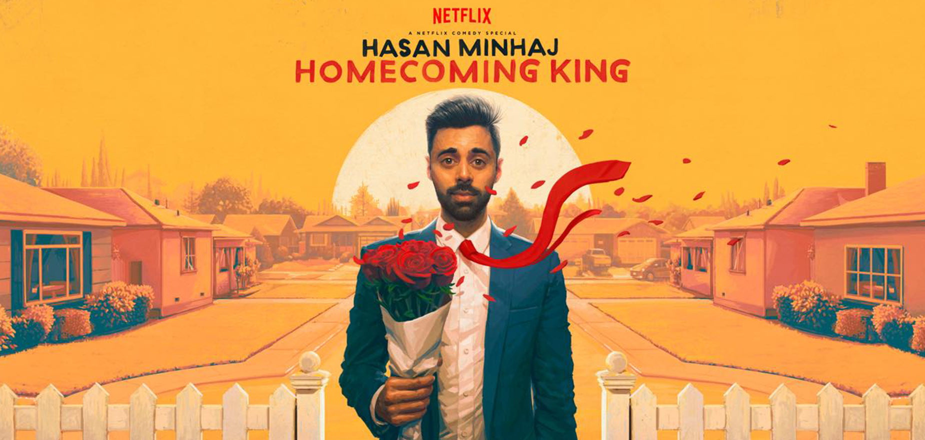 Hasan Minhaj: Homecoming King - Netflix, Art + Industry
