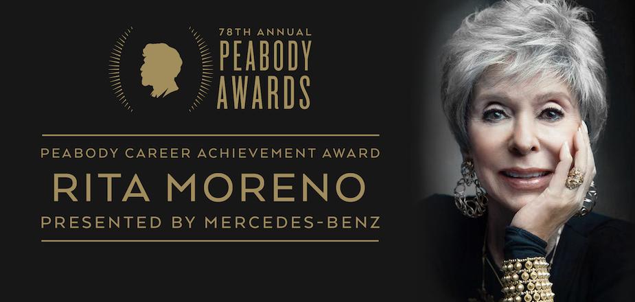 Career Achievement Award: Rita Moreno, presented by Mercedes-Benz
